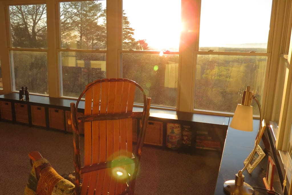 Relax with majestic views and sunrises.
