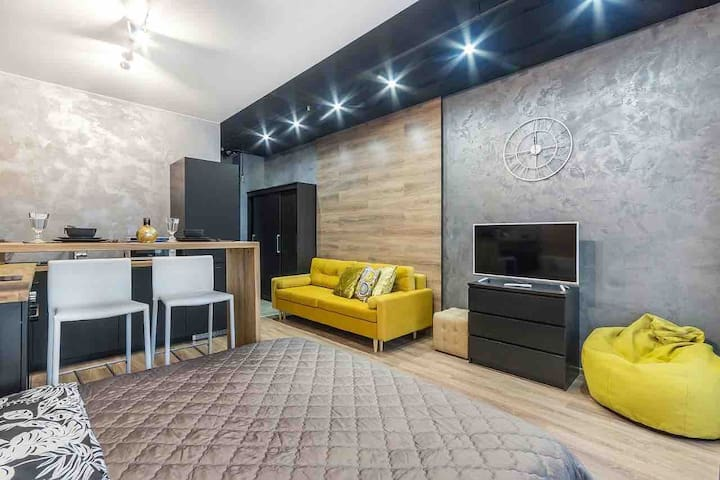 Loft style apartment of Business class