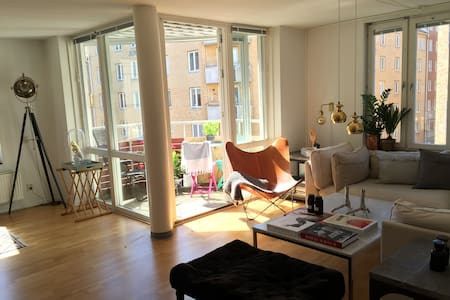 Beautiful flat in the heart of the city - Göteborg - Apartament