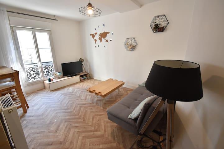 Appartement cœur Angers Doutre / Équipement bébé
