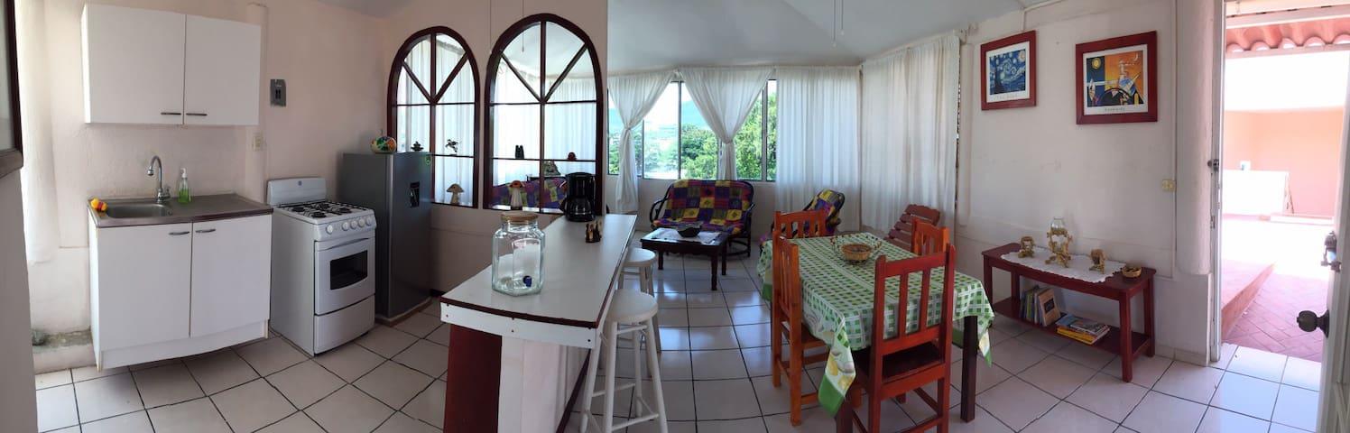 Apartamento completo con hermosa vista.