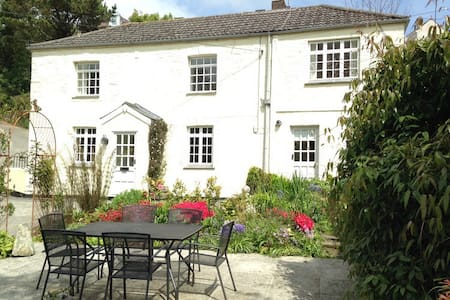 Cottage for up to 6, parking & garden, Mevagissey - Mevagissey - House