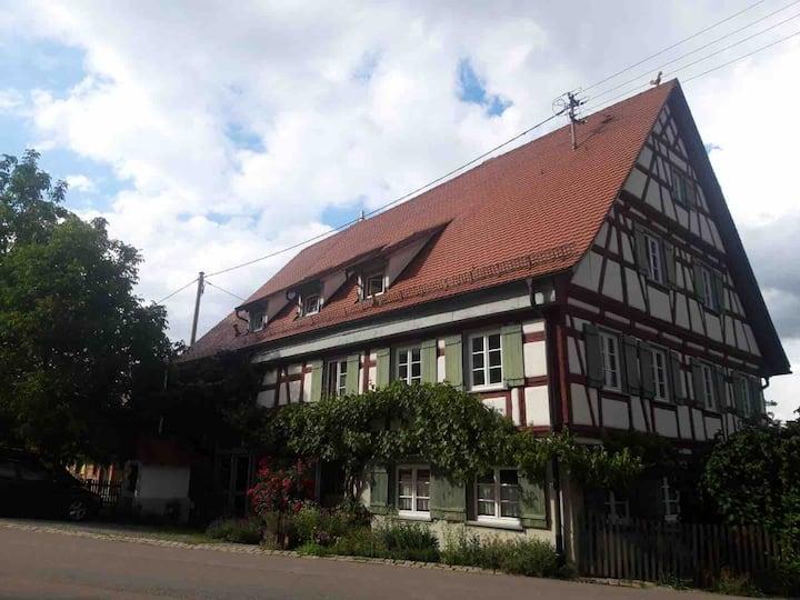 Ferienwohnung im alten Fachwerkhaus