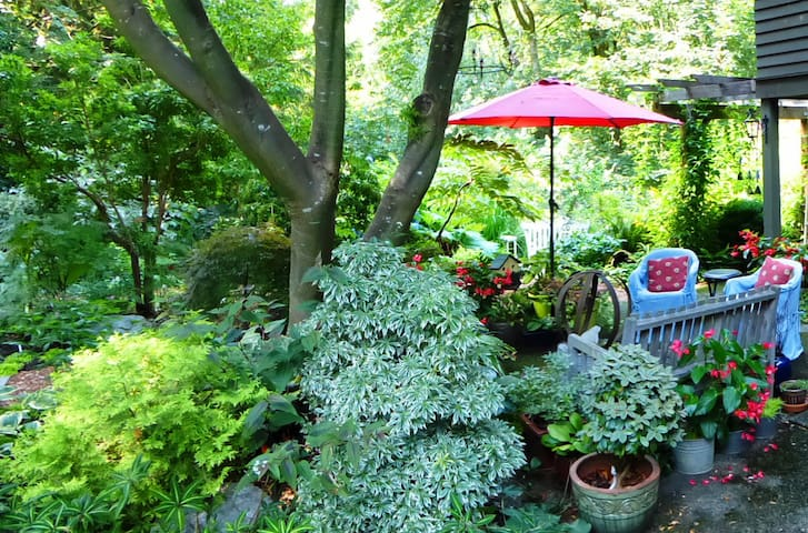 Forest Side Hideaway..... Calm, Cozy, Retreat