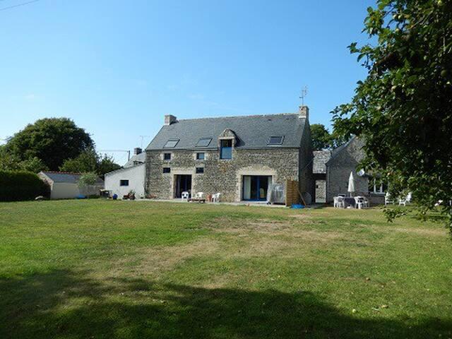 La Grange de Kergoulaz - 2 maisons - 10 personnes - Plomeur