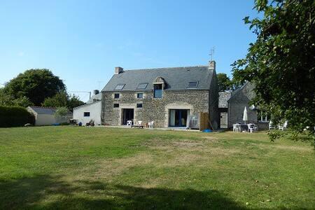 La Grange de Kergoulaz - 2 maisons - 10 personnes - Plomeur - Hus