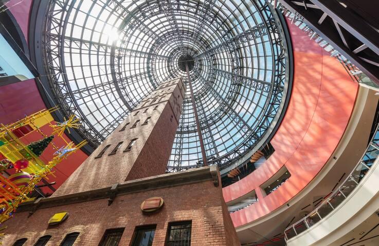 Melbourne Central - 5 minutes walking