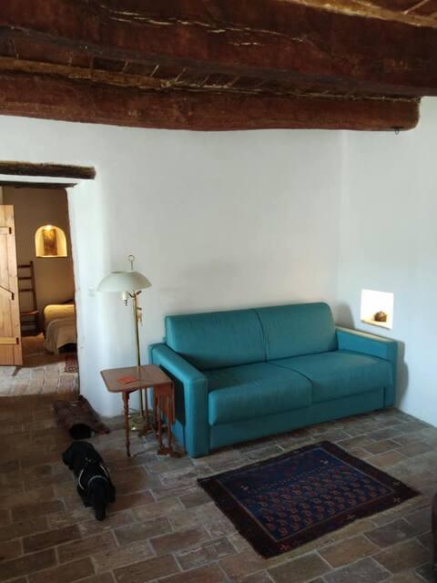 Cozy flat in medieval village