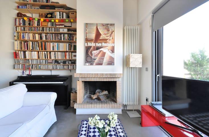 Beautiful penthouse maisonette
