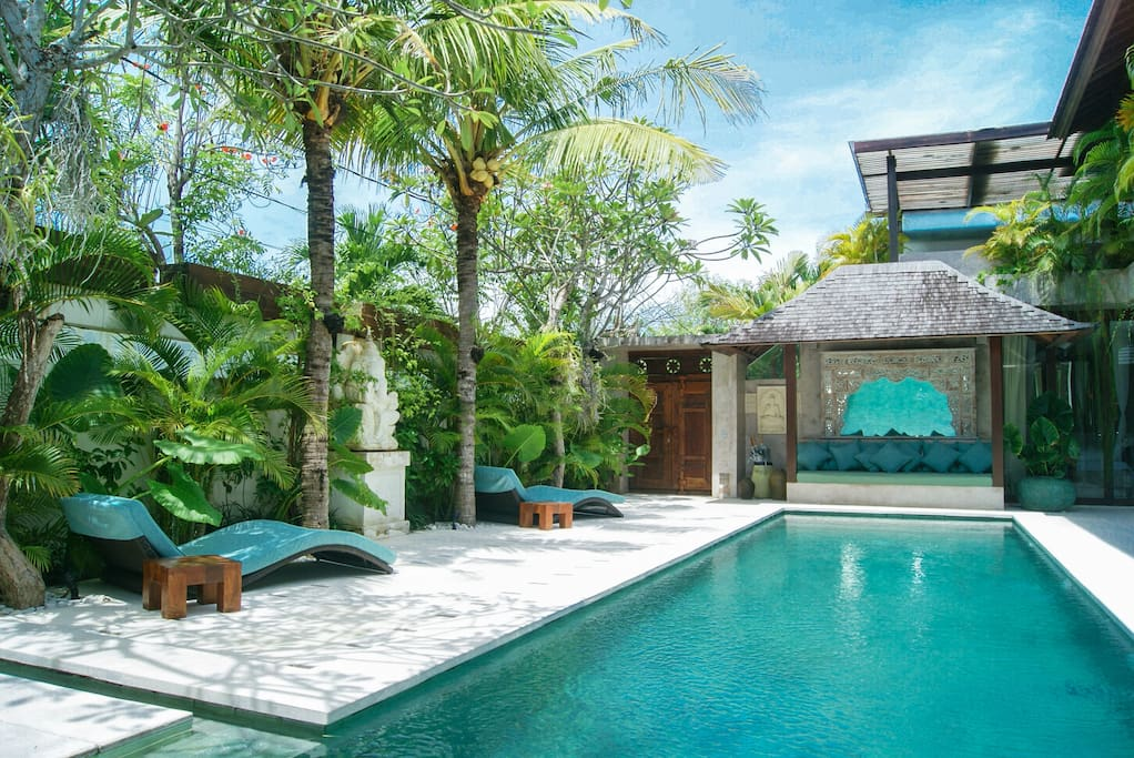 PRIVATE SWIMMING POOL view by day