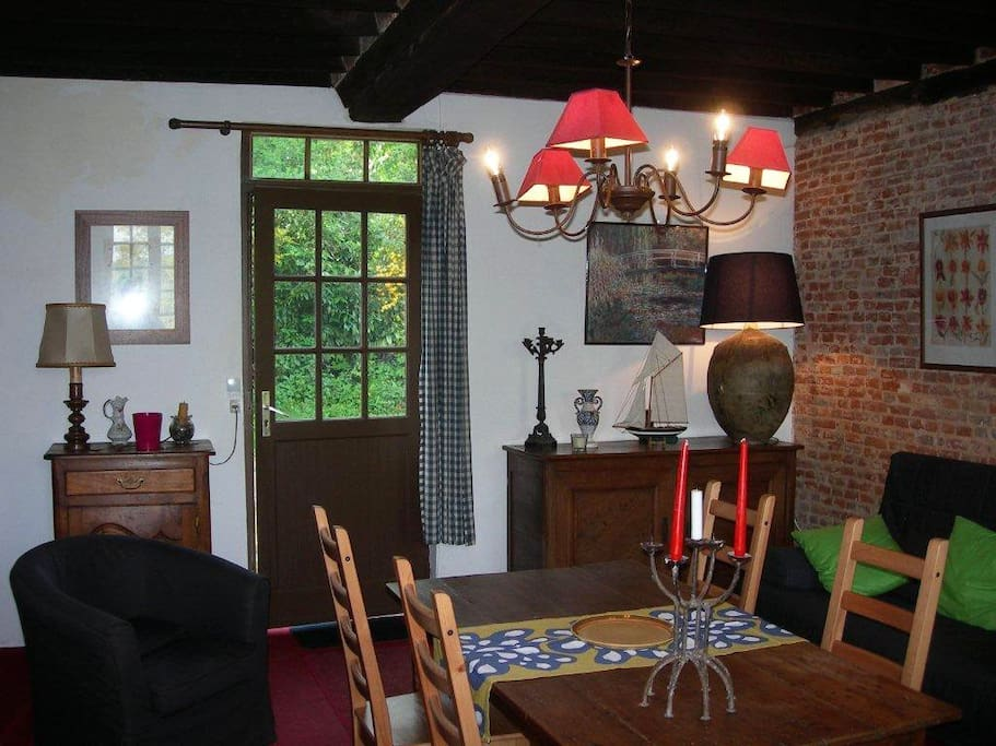The Living & Dining room