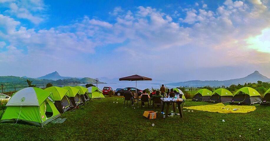 Pawna camping near lonavala - プネー