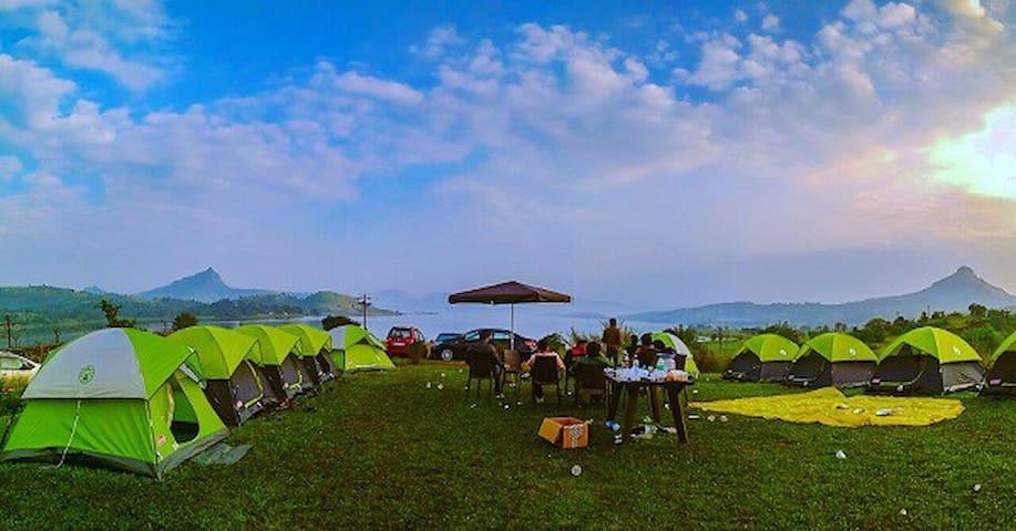 Pawna camping near lonavala - Pune - Tent