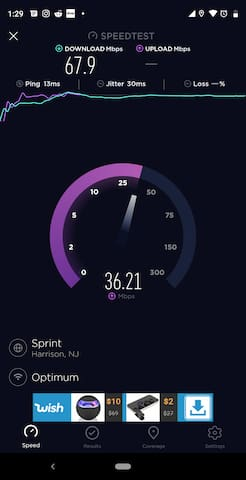 Fast Wi-Fi Connection.
