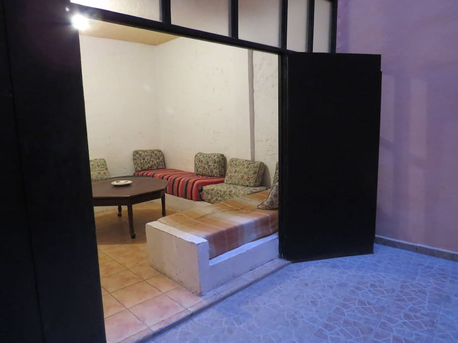 The lounge- room for the third guest