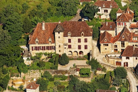 Room in the Castle with the Garden - Autoire - Bed & Breakfast