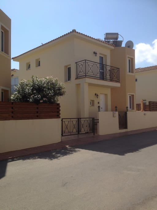 Villa View with off street parking