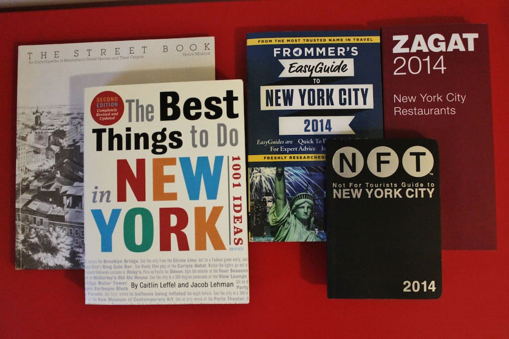 Your guidebooks