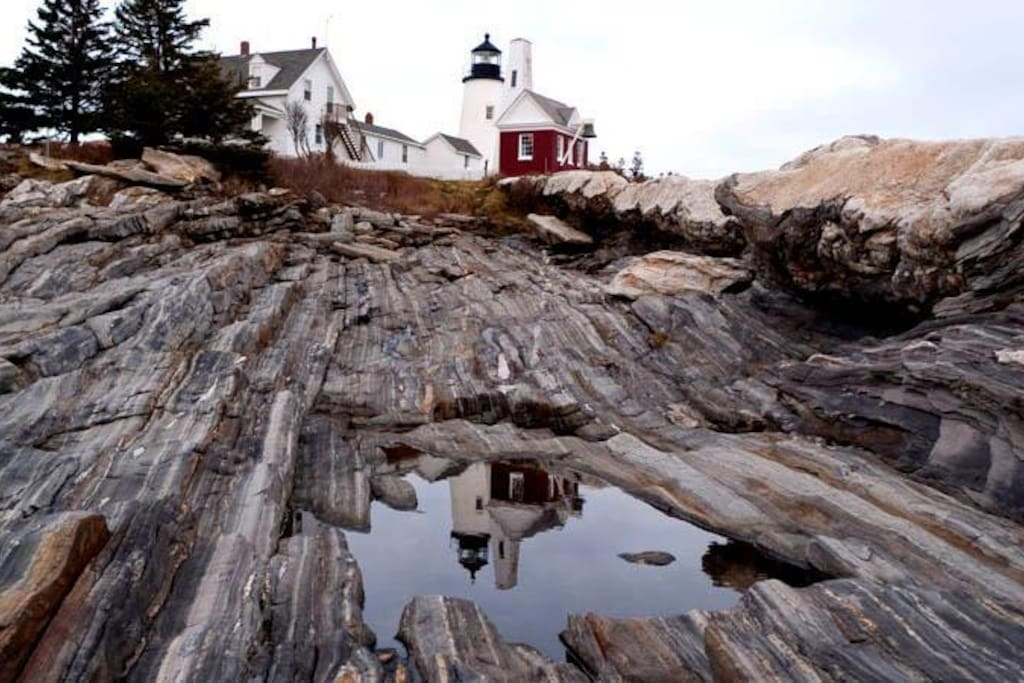 Pemaquid Point Lighthouse, a must see while you visit us.