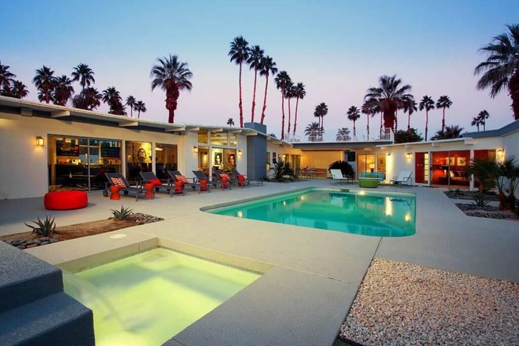 Pool, Spa and Patio Area