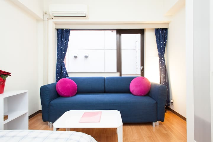 RARE Location near IMPERIAL PALACE! Parks- Quiet! - Chiyoda - Apartemen