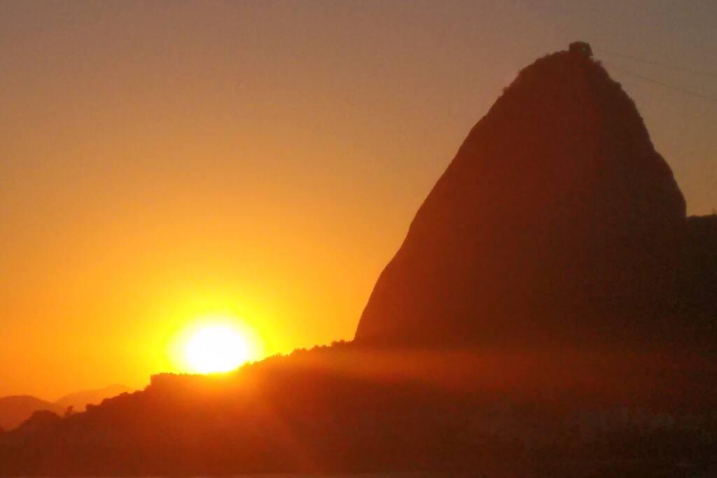 Nascer do Sol em Janeiro