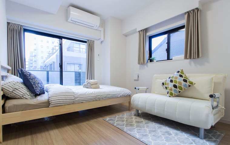 2 min from Station! New Condo in Central Tokyo!