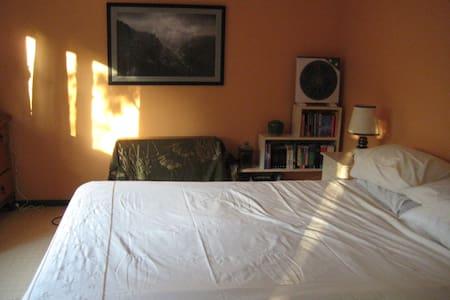 Bedroom with verandah to garden - Springwood