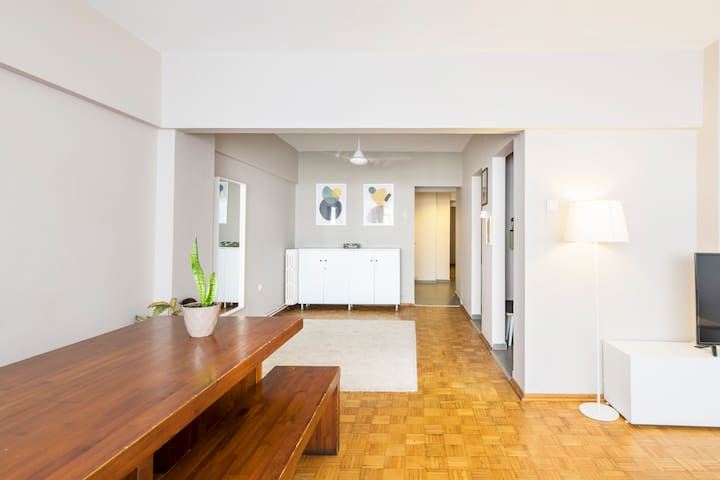 Brand New Family Flat at The Heart of The City