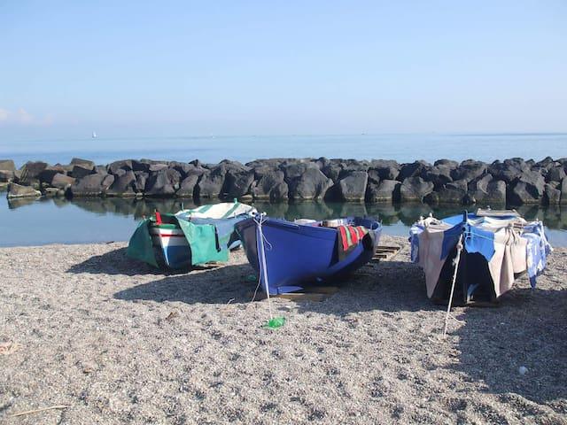 Tra Taormina e Catania a 150mt dal  mare. - riposto - Appartement