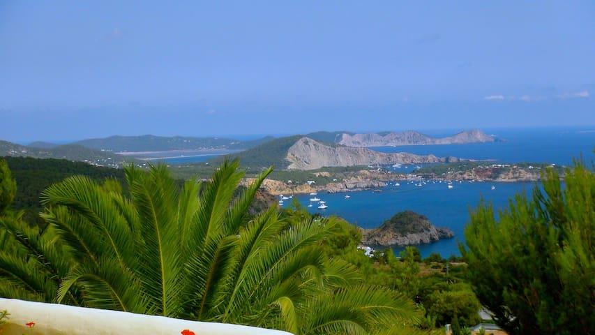 Most beautiful view of Ibiza