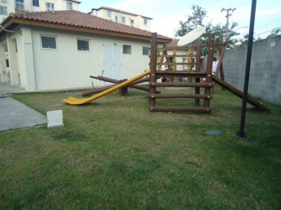 Play area for children in the condominium