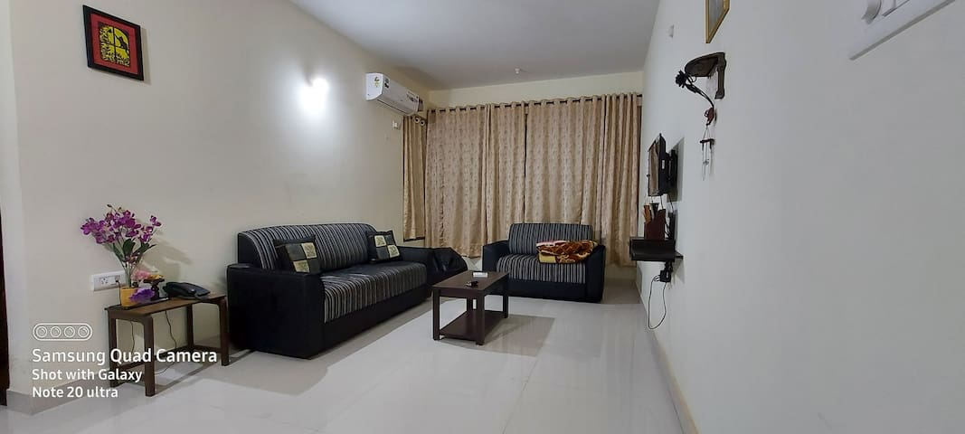 A Cozy , peaceful & relaxing stay @ colva beach!