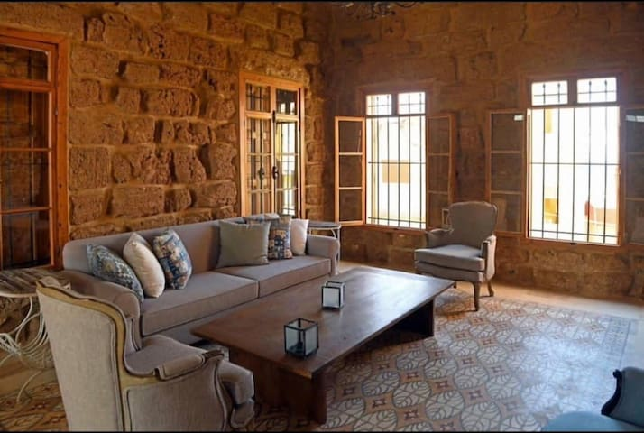 1361 Sandstone Old Batroun House