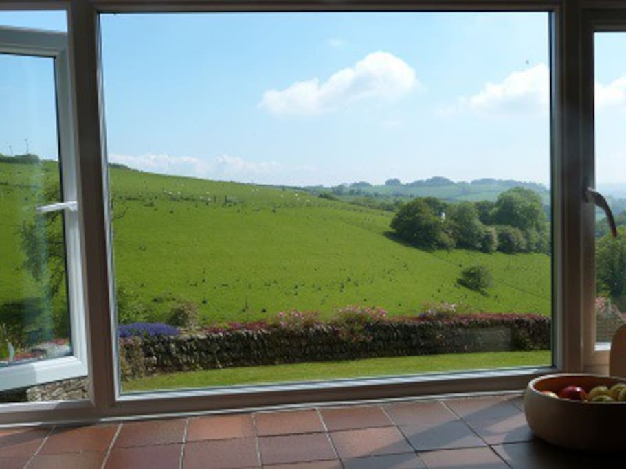 The view from Rye Cottage