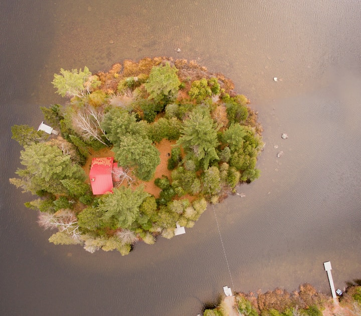Les Chalets du Lac Grenier - Island