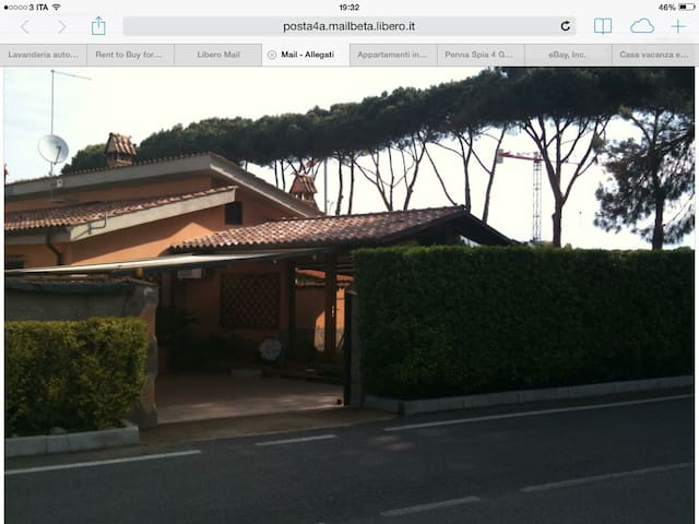 Casa Vacanze La Gatta Elza - Infernetto - Villa
