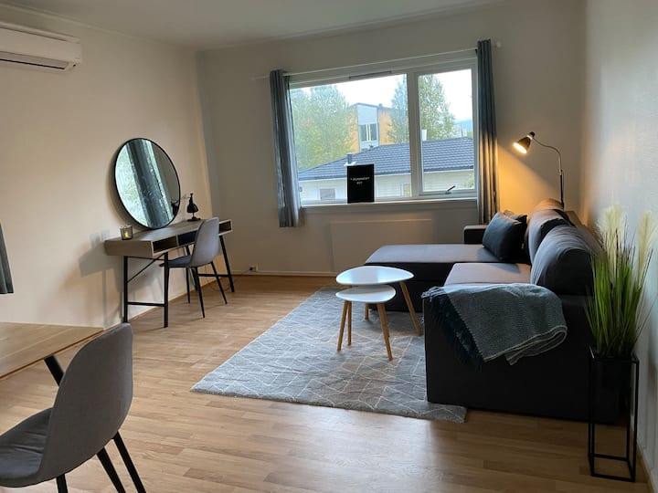 Lys og fin leilighet i Bodø sentrum - nært alt!