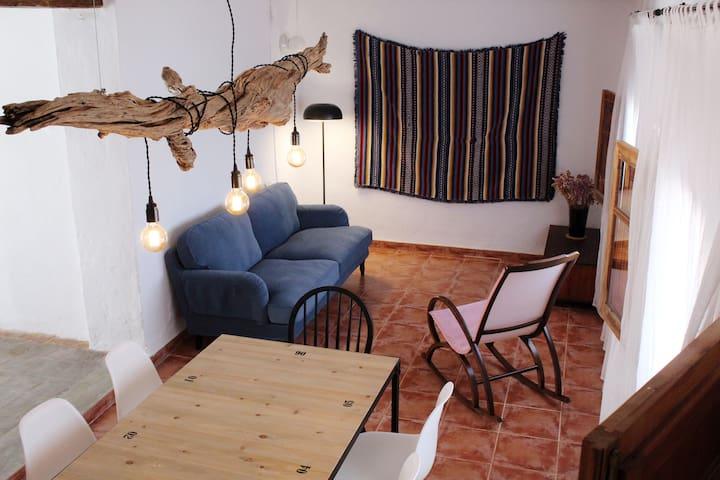 Casa encantadora en pleno corazón de Moixent