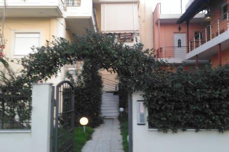 Amos beach apartments marvelus Akoli of Aegion!