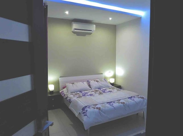 Bedroom, air-conditioned
