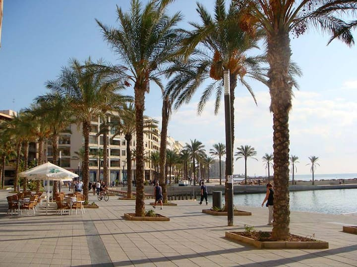 Seaside holiday apartment to rent in Costa Blanca