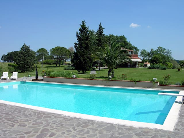 Farm Apartment Maestrale  with pool