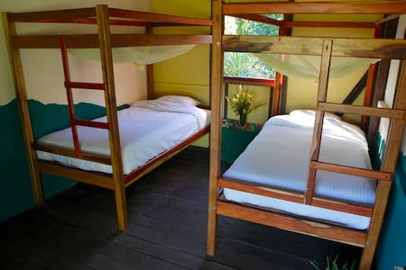 Finca Musica del Bosque - Twin - Mountain Room - Matagalpa