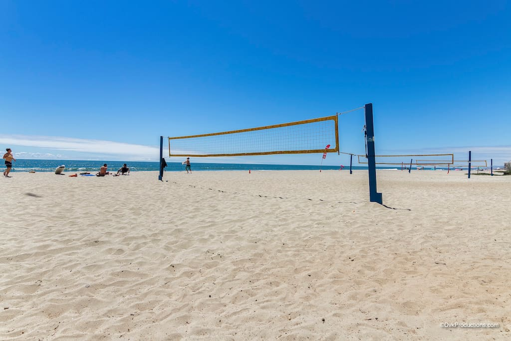 Volleyball Anyone ? Carlsbad Beach State Park