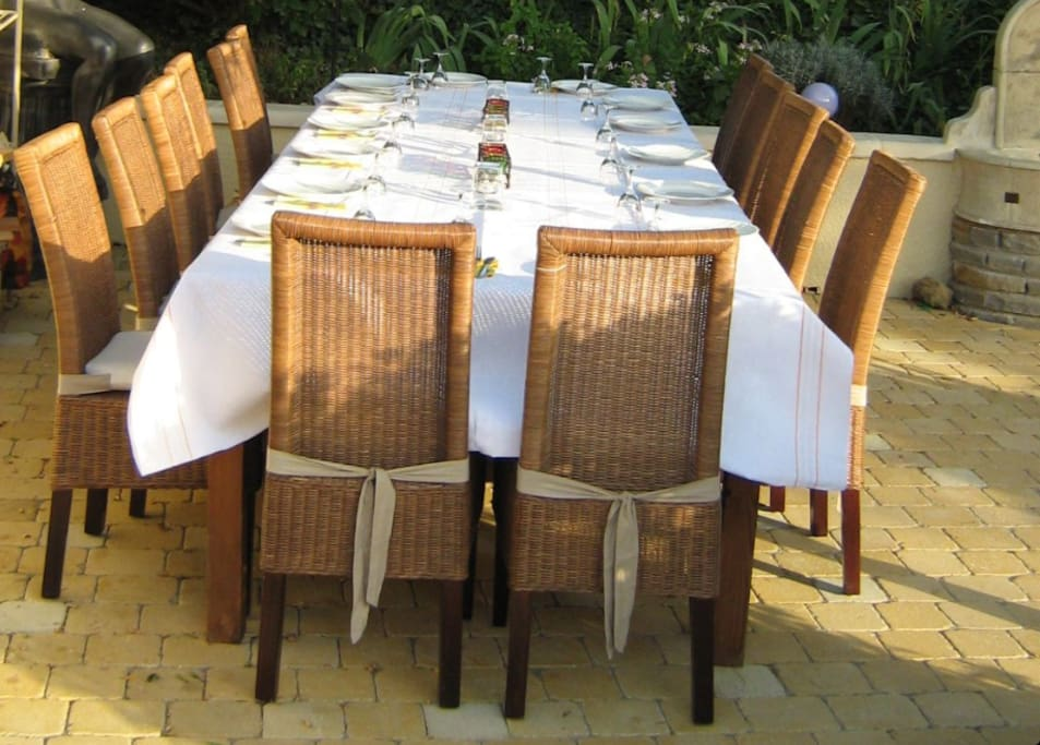 Supper's Ready! 28 euros per person inc 50cl wine or soft drink. Available up to 6 nights per week