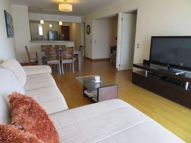 Miraflores - Larcomar, fino departamento equipado - Miraflores - Appartement