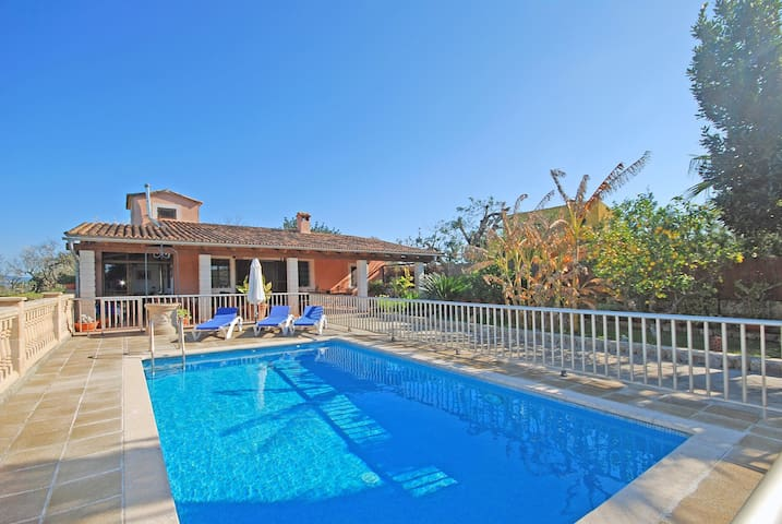 TRAMUNTANA - Country house with swimming pool in Inca