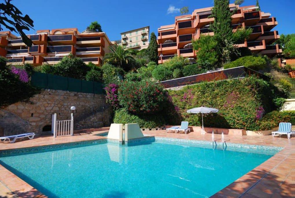 Le Golfe Bleu Roquebrune Studio Apartments For Rent In Roquebrune Cap Martin Provence Alpes