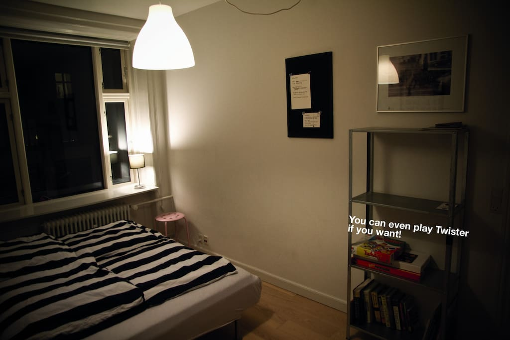 Another angle of the guest room.